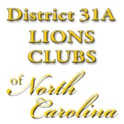 District 31A Lions Club of North Carolina